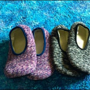 Worlds Softest Slippers, Two Pair